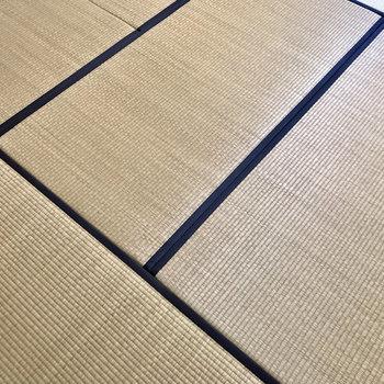 畳にじゃ〜〜んぷっ。(※写真は2階反転間取り、モデルルームのものです)