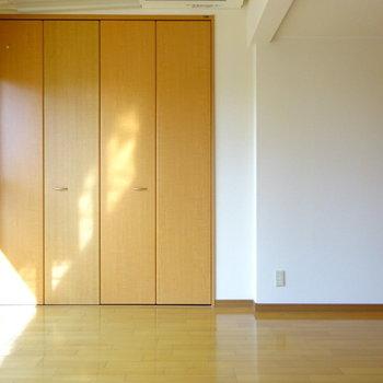 収納も・・・(※写真は2階の同間取り別部屋のものです)