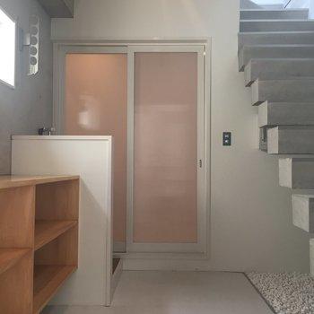【下階】1階に戻りましょう