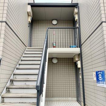 2階までは階段だけどこれくらいなら!