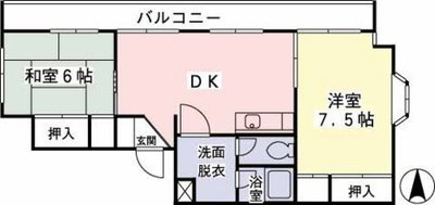 ヤマト永山ハウス の間取り