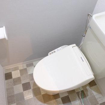 トイレも新たにリニューアル
