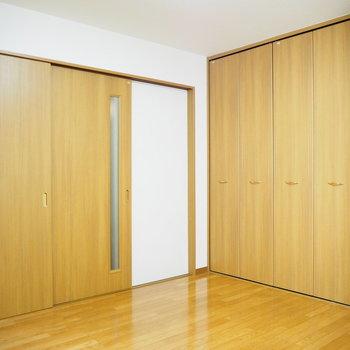 扉で仕切れます◯