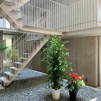 階段部分もかっこいい。