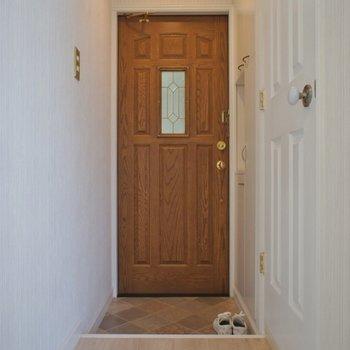 こだわりの詰まったドア。