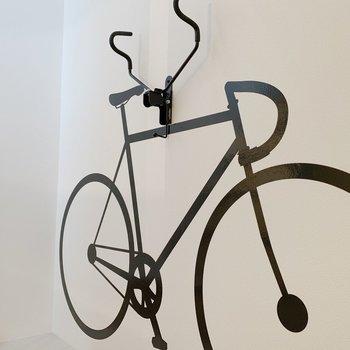 【1F】自転車が1台置けます。