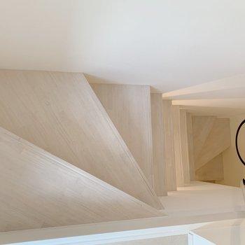 1階へ下ります。