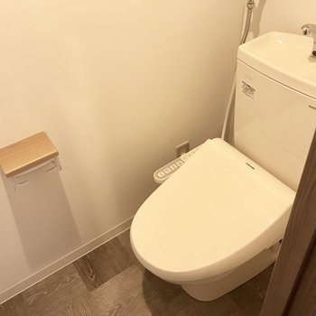 トイレはウォシュレット付き!これは嬉しいポイント♪