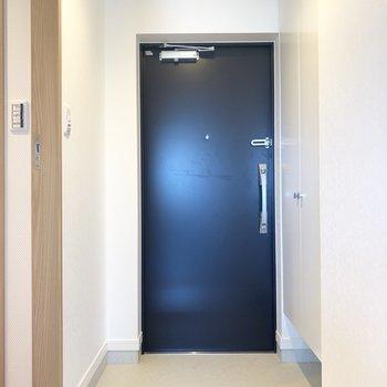 玄関はちょうどいいサイズ