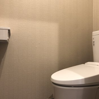 トイレも綺麗。