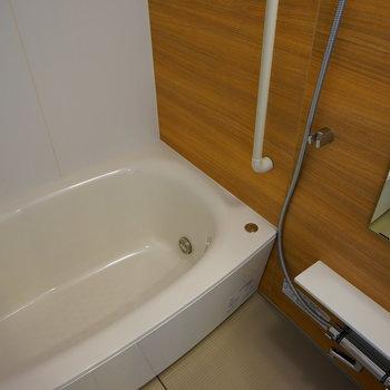お風呂もゆったり機能的!※写真は前回募集時のものです