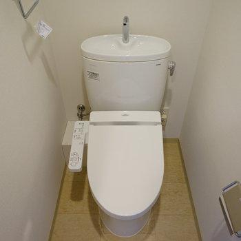 シンプル高機能なトイレ♪※写真は前回募集時のものです