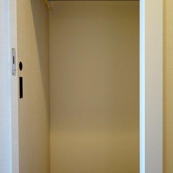 寝室にあるWIC②これだけあれば嬉しいです!※写真は前回募集時のものです