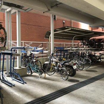 駅から少し歩くので、自転車を用意してもいいですね