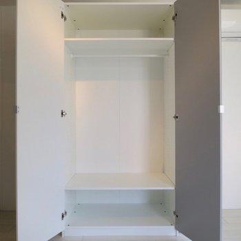 この収納力は助かる※写真は3階の同間取り別部屋のものです
