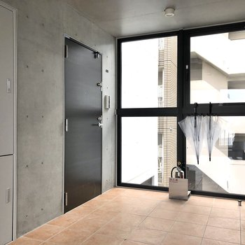 こちらのドアが今回のお部屋。