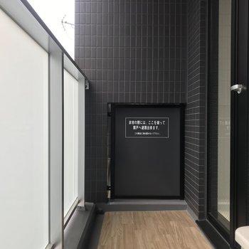 洗濯物は浴室乾燥機でも干せます※写真は6階の反転間取り別部屋のものです