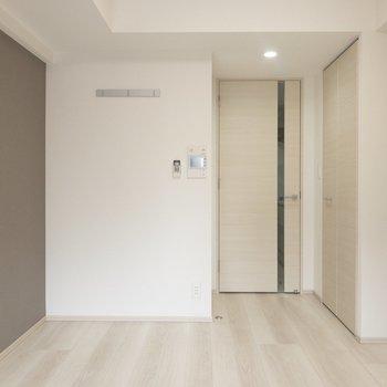 ソファベッドで空間の有効活用を※写真は6階の同間取り別部屋のものです