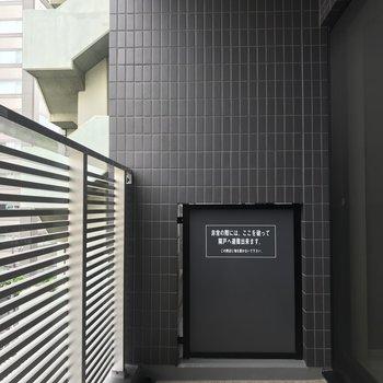 洗濯物は浴室乾燥機でも干せます※写真は6階の同間取り別部屋のものです