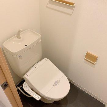トイレも普通、、だけど小物にこだわりあり!(※写真は前回募集時のものです)