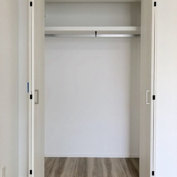 一人分は入りそうかな ※写真は2階の同間取り別部屋のものです