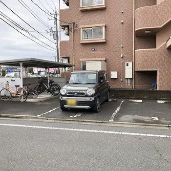 駐車場、駐輪場は空要確認です