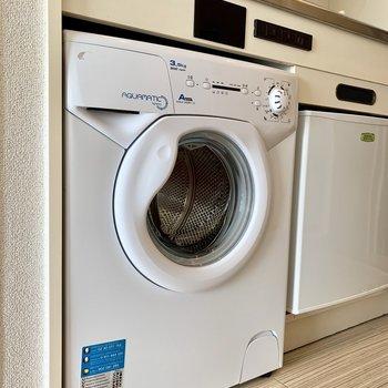 ドラム式洗濯機もありますよ
