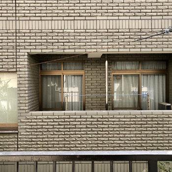 眺望はお向かいのマンションなので、洗濯物にカバーを掛けるといいですね