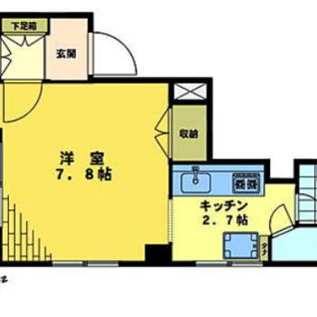 洋室は正方形でレイアウトもしやすそう