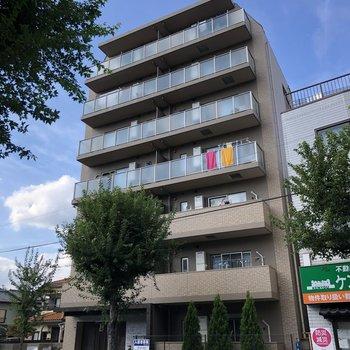 7階建てのお部屋です。