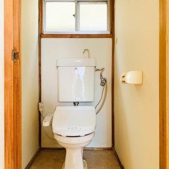 独立したトイレです。