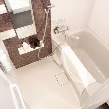 浴室乾燥機付きお風呂です※家具はサンプルです