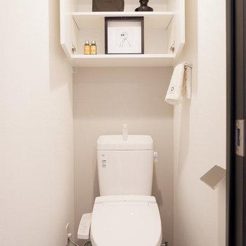 トイレは個室です※家具はサンプルです