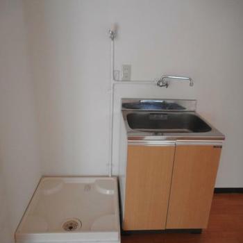 洗濯機置き場あり