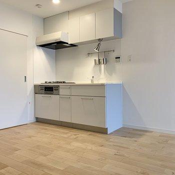 キッチンはゆったり動線が確保しやすいです。