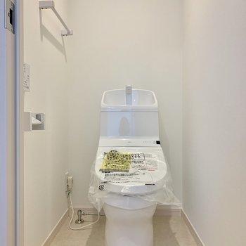 トイレは清潔感があっていいですね
