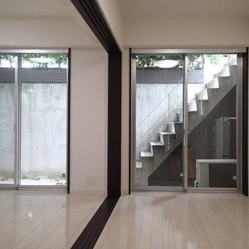 奥の階段ビューもカッコいいですよね※写真は前回募集時のものです