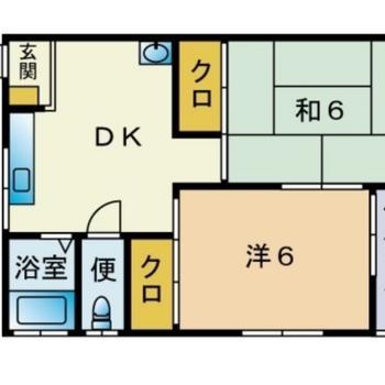 和室あります。2人暮らしにぴったり◎
