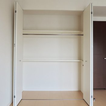 大容量ですね!※写真は8階の似た間取り別部屋のものです