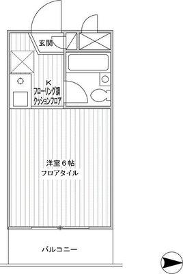 モナーク二俣川リバーサイドマンション の間取り