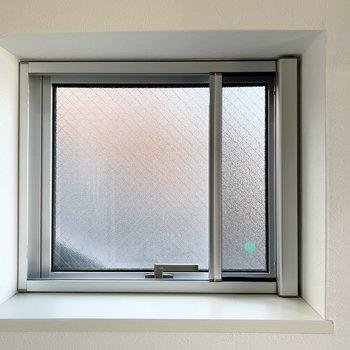 開閉可能な小窓には網戸付。