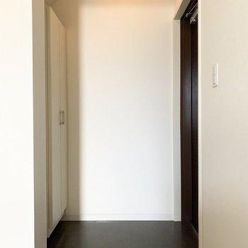 さて、室内の最後は玄関を。