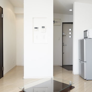 LDkを中心に部屋の機能が配置されているので、 移動が少なく、動線もスムーズ。