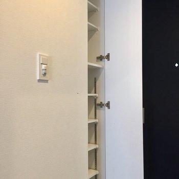 シューズボックスが、※写真は3階の反転間取り別部屋のものです