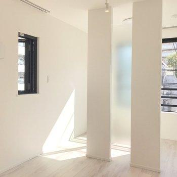 日当たりの良い、明るいお部屋