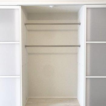 下にはボックスを置いて、スペースを余すことなく使いましょう※写真は前回募集時のものです