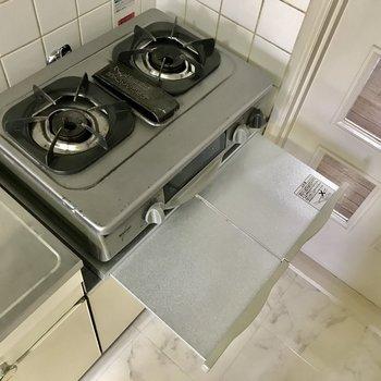 お鍋なども置けますよ。