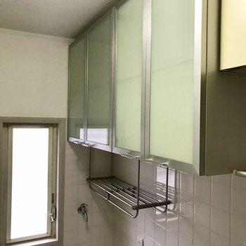 洗剤などはここに置きましょう。