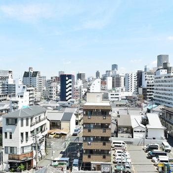 【2階】開けた良い眺め