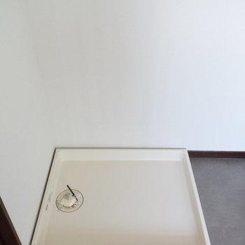 【1階】洗濯機置き場です